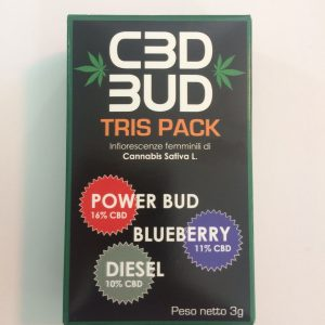 Cbd Bud Tris Pack cbdbud.it