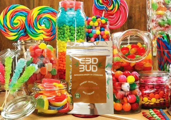 CBD BUD Caramel Candy
